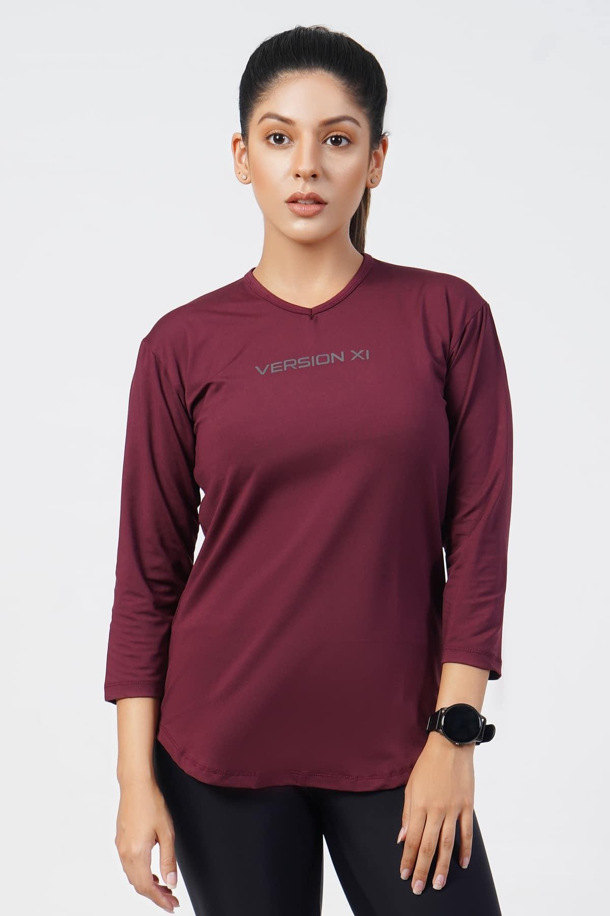 Flex Three Quarter Sleeves T-Shirt - Women Activewear