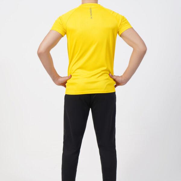 Micro Mesh Men's Yellow T-Shirt