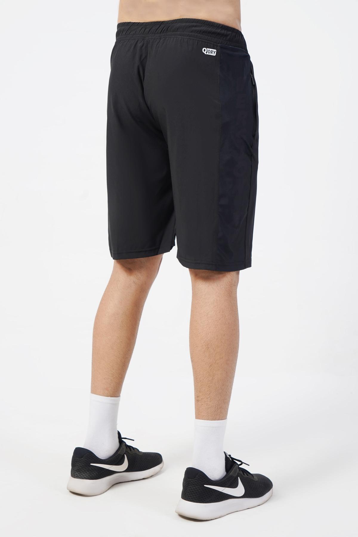 Power-Up Black Shorts