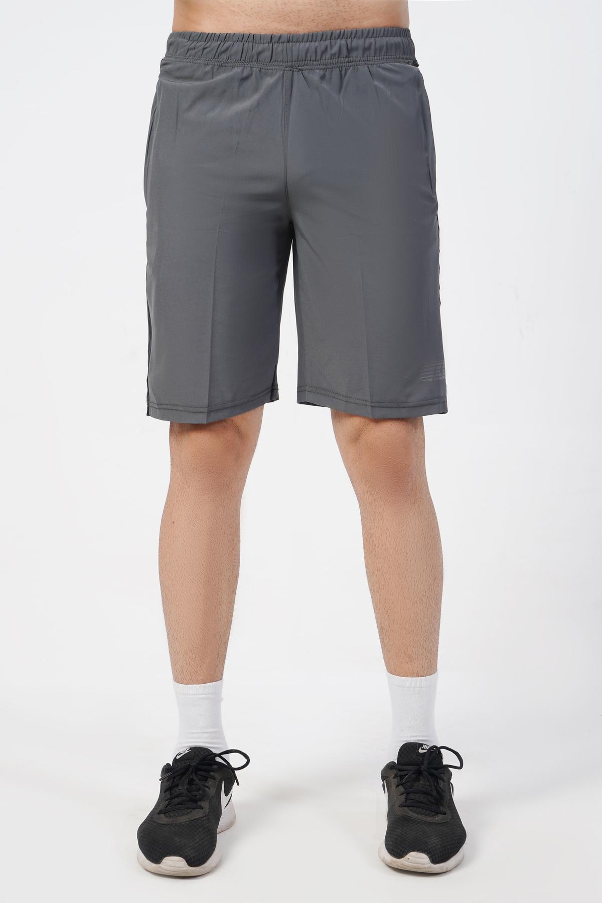 Pursue Strength Gray Shorts